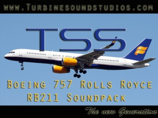 Boeing 757 Rolls Royce RB-211 Soundpack Tss_7510