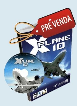 X-Plane 10 em pré-venda na GS Produtos Xplane10