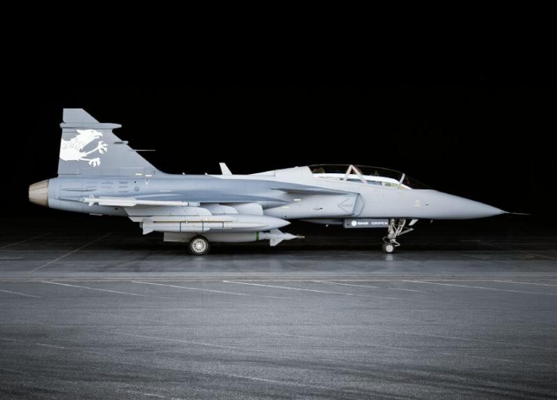 Saab: présentation du futur Gripen 08041810