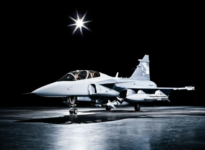 Saab: présentation du futur Gripen 08041811