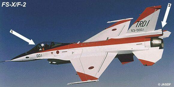 Mitsubishi F2 (FS-X) Fs-x10