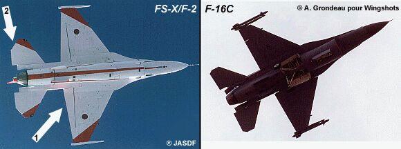 Mitsubishi F2 (FS-X) Fsx210