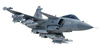 Saab: présentation du futur Gripen Norgeg10