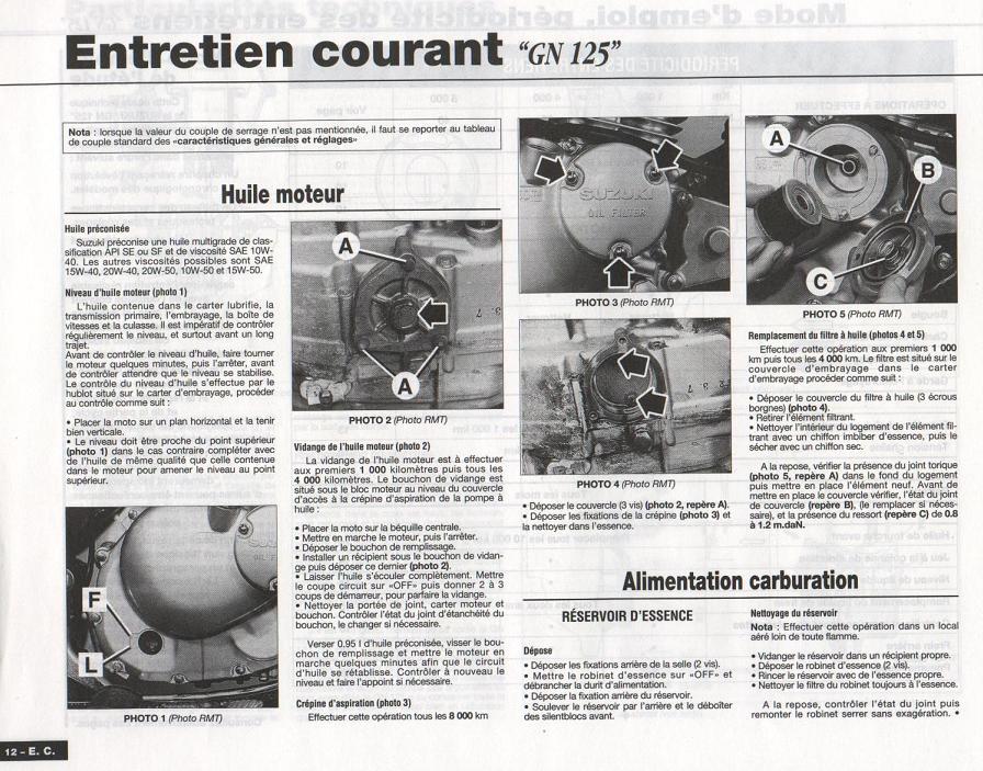 Revue technique GN 125 1987 - 2001 Page1210