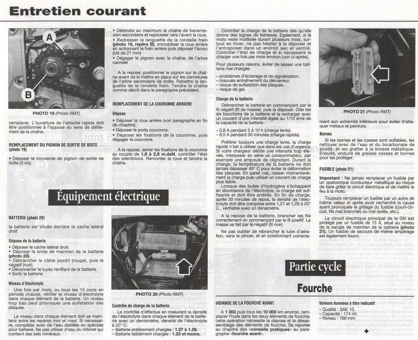 Revue technique GN 125 1987 - 2001 Page1611