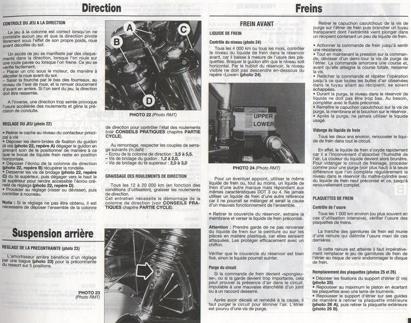 Revue technique GN 125 1987 - 2001 Page1710