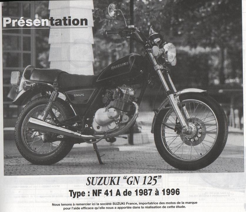 Revue technique GN 125 1987 - 2001 Page310