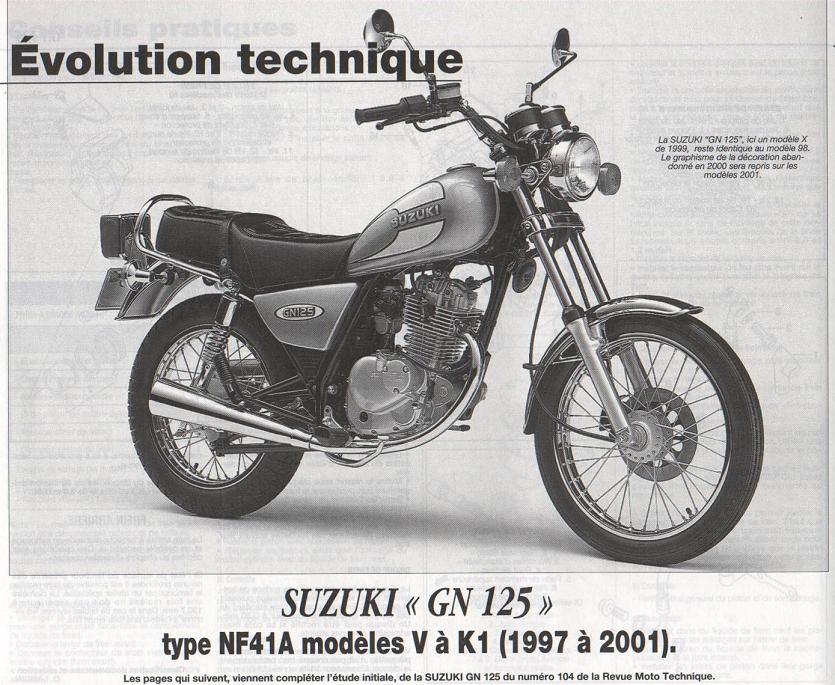 Revue technique GN 125 1987 - 2001 Page5010