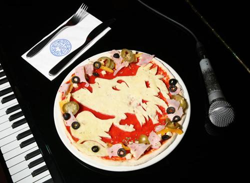 بيتزا على شكل مشاهير D6331910