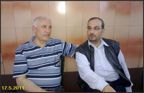 صورة تذكارية للشاعر الاستاذ عبد القادر الأسود و الأستاذ أحمد دالي Oana2910