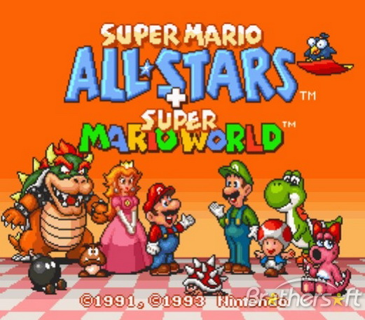 حمل لعبة سوبر ماريو وورد PC Games - Super Mario All-Stars  Super_10