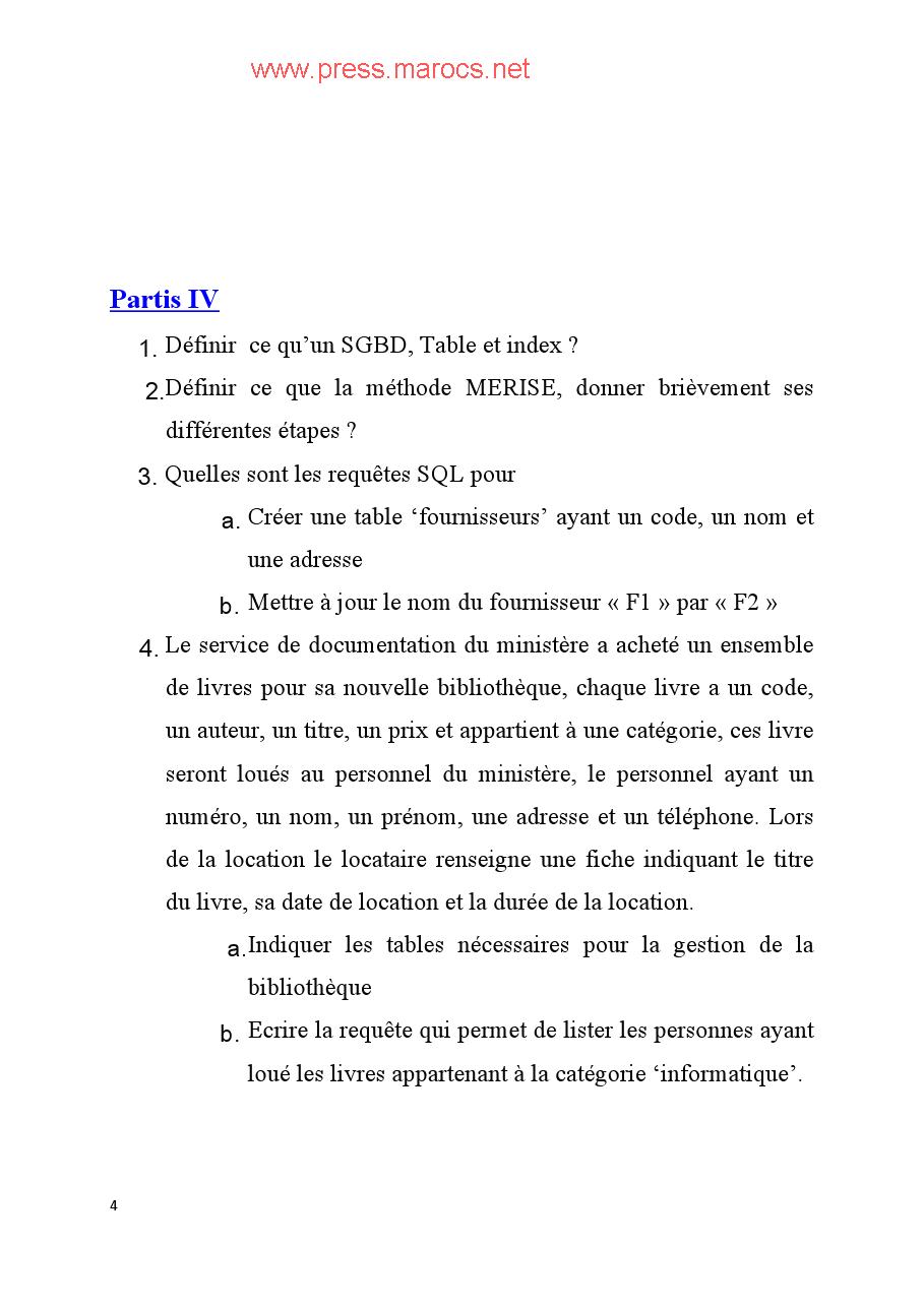 وزارة الصحة: نموذج مباراة توظيف تقنيين متخصصين من الدرجة الثالثة السلم 9 التخصص: الشبكات وأنظمة المعلوميات Viewer13