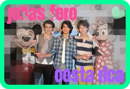 Jonas Brothers Foro Costa Rica