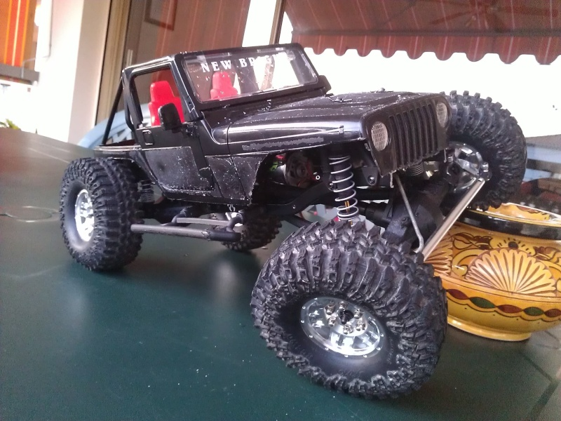 [ SCX10 Axial ]  Jeep'eu rien turn away ! Short chassis and Timber Style ! - Page 5 Wp_00015
