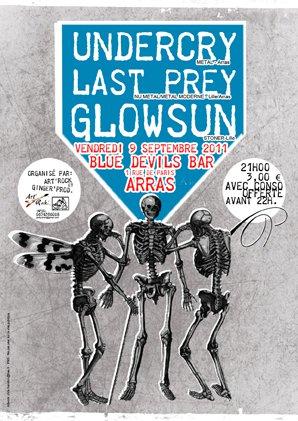 Last Prey w/ Undercry + Glowsun au Blue Devils @ Arras le 09/11/11 Flyer_10