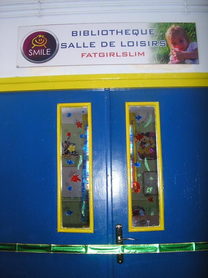 «Une bibliothèque pour tous » la salle Fatgirlslim P1010024