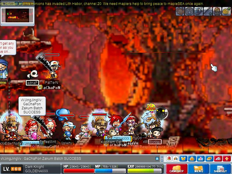 1st Successful Zak Run on 20/07/08 Maple023