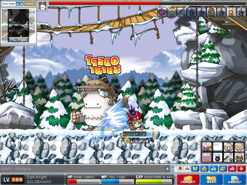 Hunting Snowman Maple029