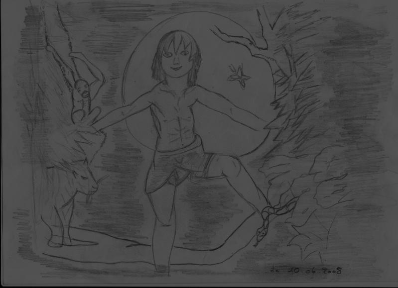 JE DESSINE... - Page 3 Tarzan11