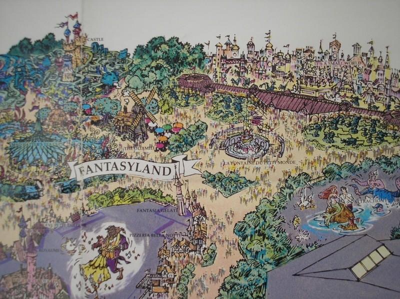 Plan poster du parc 1992 P1010012