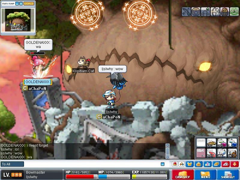 Attempt to kill KREXEL - SUCCESS!! ^^ Maple030