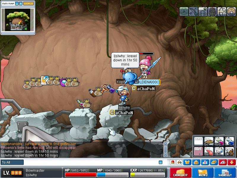 Attempt to kill KREXEL - SUCCESS!! ^^ Maple033