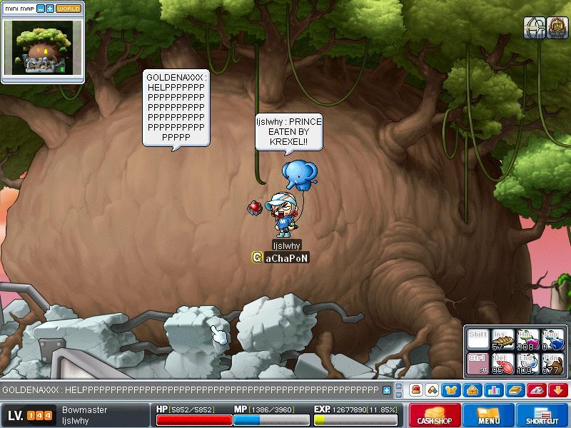 Attempt to kill KREXEL - SUCCESS!! ^^ Maple034