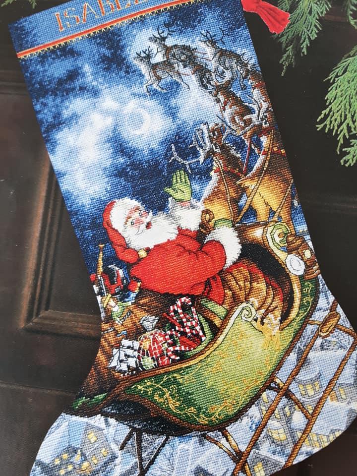 Botte de Noël - Dimensions 59529510