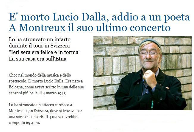 Addio a Lucio Dalla Dalla10