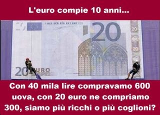 Pillole di saggezza Euro10