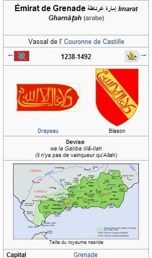 Double Dinar de l'émirat NASSRIDE (Royaume de Grenade) 1238-1492 Dinar110