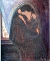 Edvard Munch [peintre/graveur] Baiser10