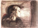 Edvard Munch [peintre/graveur] Enfant11