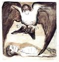 Edvard Munch [peintre/graveur] Harpie10