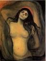 Edvard Munch [peintre/graveur] Madonn13
