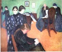 Edvard Munch [peintre/graveur] Mort_c10