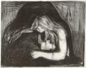 Edvard Munch [peintre/graveur] Vampir11