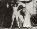 Edvard Munch [peintre/graveur] Woman310