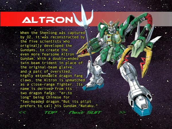 AC Gundam Wing Altron11