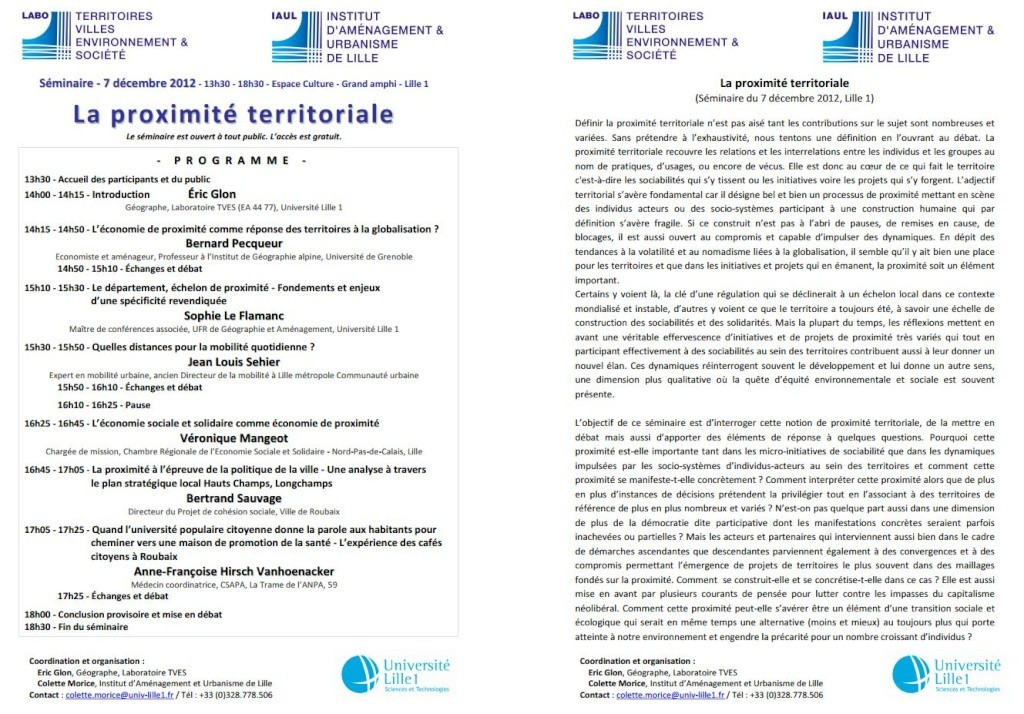 7 déc 2012 - LILLE - Séminaire - La proximité territoriale La_pro10