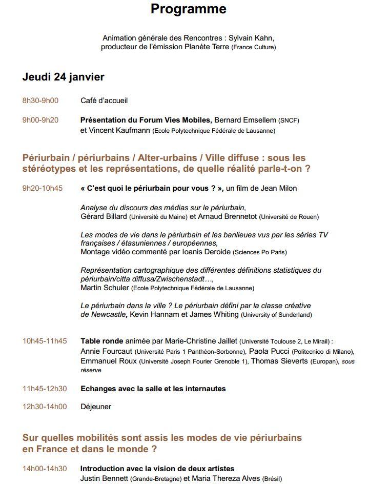 24-25 janvier 2013 - Paris - Rencontre Des mobilités durables dans le périurbain, est-ce possible ? Progra10