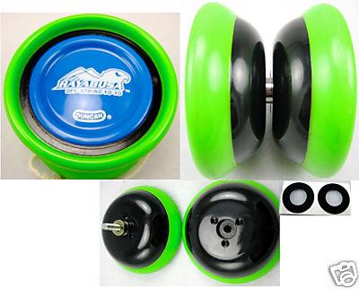[CONCLUSA] Duncan Hayabusa off-string yo-yo - Green & Blue B71b_110