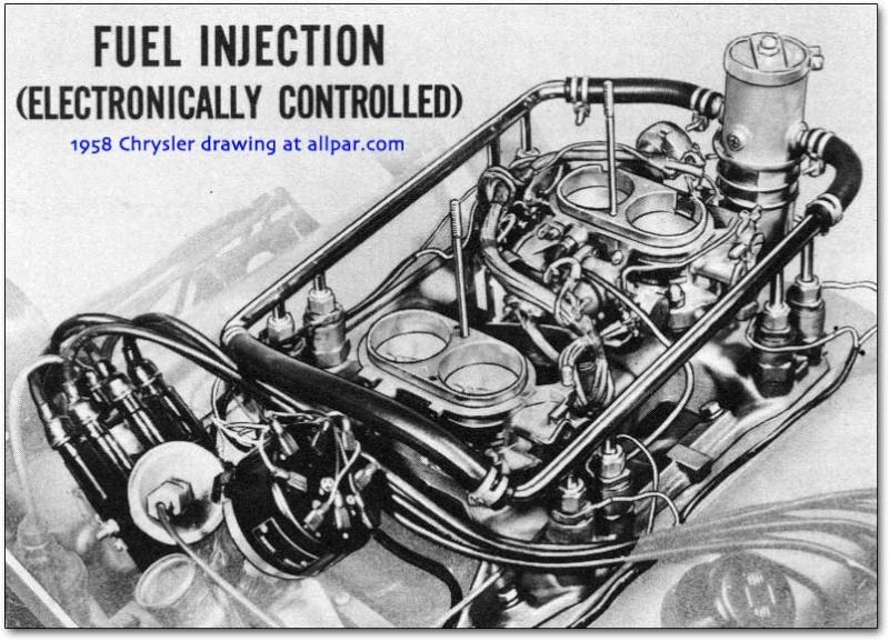 1958 DeSoto Electrojector - première Injection électronique ??? Electr10