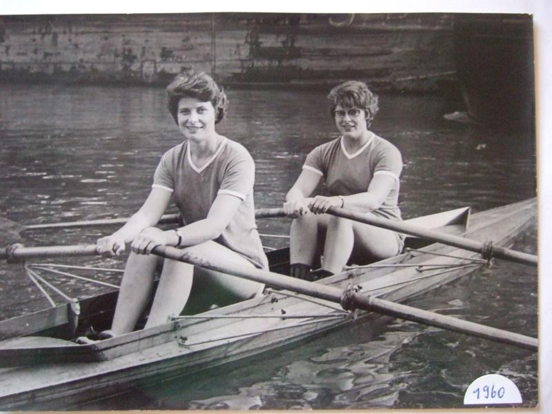 """Ma mère Bernadette et sa copine Claude Championnes de France de """"deux """" de couple en 1960 1960_c10"""