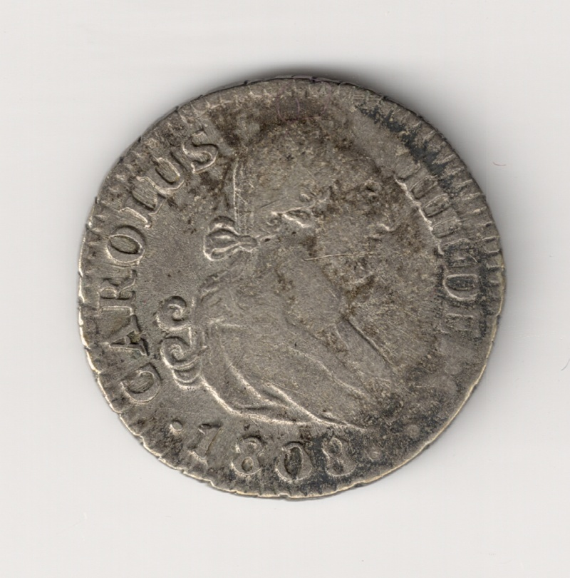 1/2 Real de Carlos IV ( Madrid,  1808) Escane12