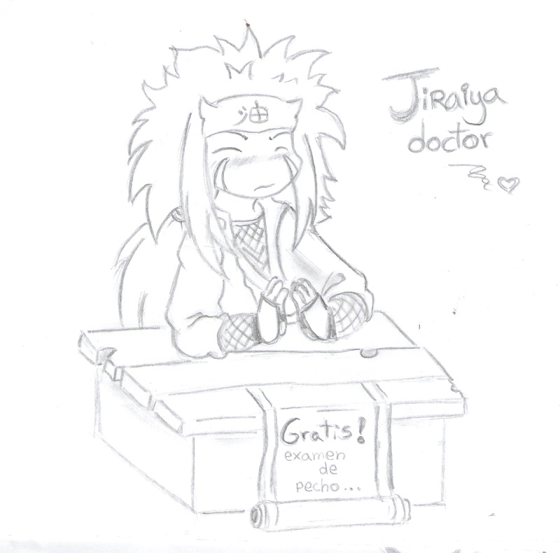 mas fan art !    ....(de shinobin) Jiraiy12