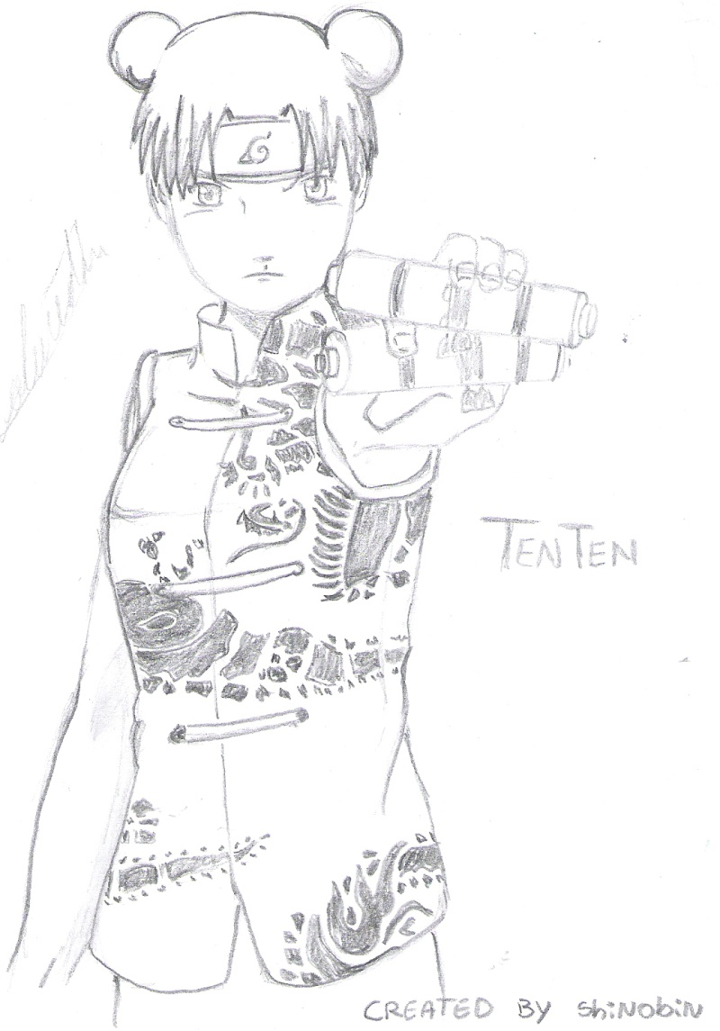 mis fan art para el concurso...(1 nuevo) Tenten12