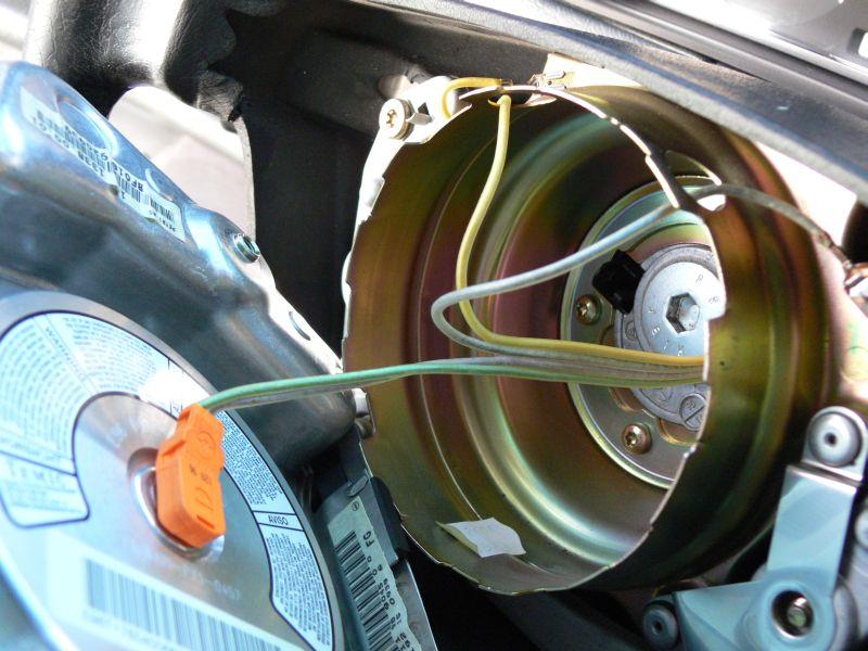 [TUTO] Dépose du volant et air bag (W210) 217