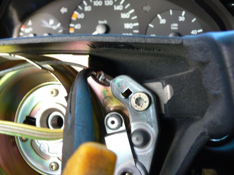 [TUTO] Dépose du volant et air bag (W210) 416