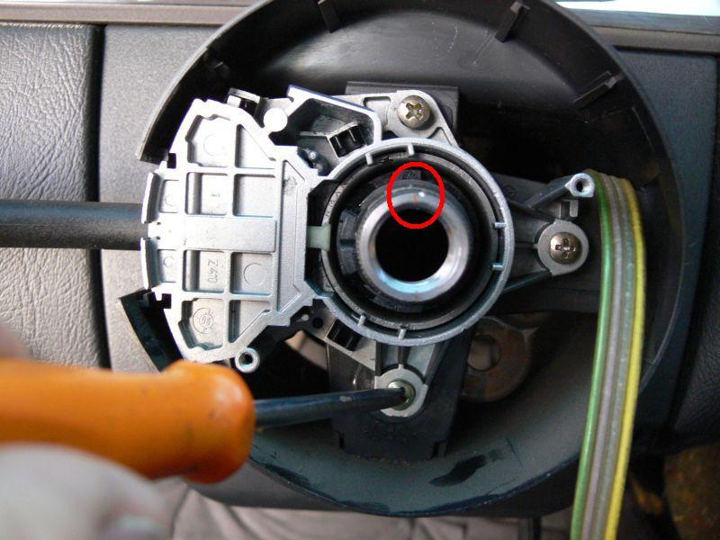[TUTO] Dépose du volant et air bag (W210) 816